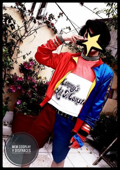 Disfraz Harley Quinn Joker Jacket Chamarra Cosplay - $ 790 ...