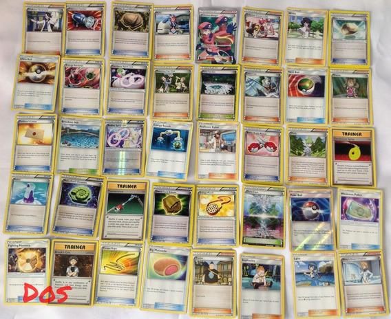Cartas Pokémon Originales Trainers Y Otras 40 Piezas