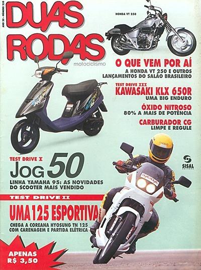 2r.230 Nov94- Cg125 Klx650 Jawa1949 Hyosu Carburador Radiado