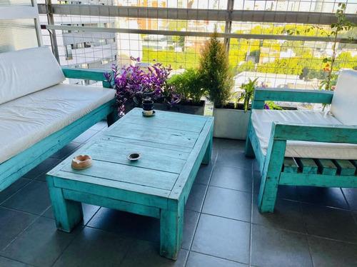 Cañitas Venta Dos Ambientes Balcon Terraza Vista Pileta Cochera Oportunidad