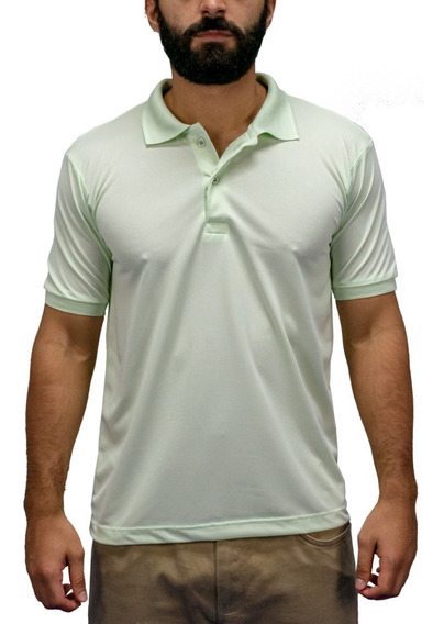 Camisa Polo Masculina Original Atacado Lisa 100% Poliéster