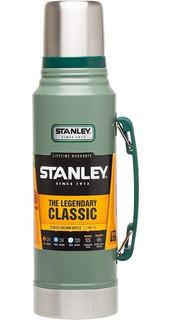 Termo Clasico Retro Vintage Stanley 1 Litro Acero Inoxidable