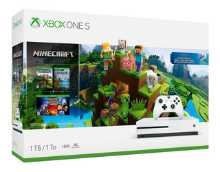 Xbox One S 1tb Hdr 4k Video Combo Minecraft Digital