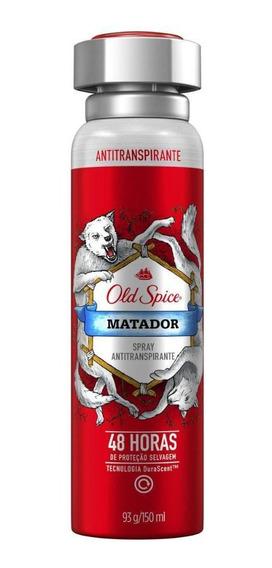 Desodorante Spray Antitranspirante Old Spice Matador 150ml