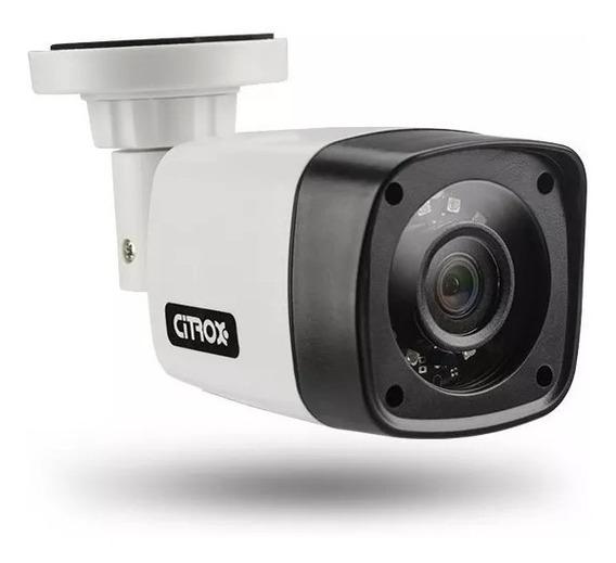 Câmera Bullet Citrox Multi Hd 720p 1mp Hibrida 3x1 Lente 2,8