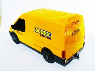 New Van Sedex Correios Carrinho Replica Brinquedo 1:24
