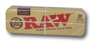 Caja Metálica Raw De Preenrolados King Size | Grow Alma Zen