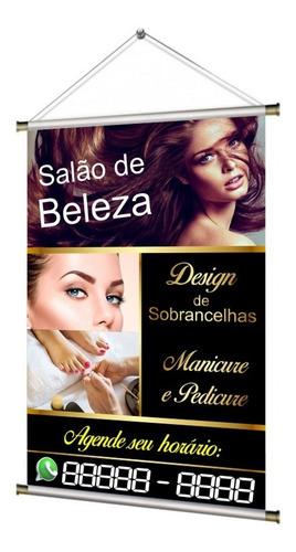 Banner Design De Sobrancelha E Manicure Pedicure