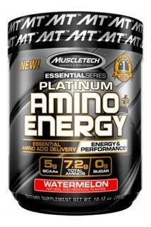 Platinum Amino + Energy Bcaas Muscletech 288g Importado Alpha Amino Build Cellucor Xtend Decanate