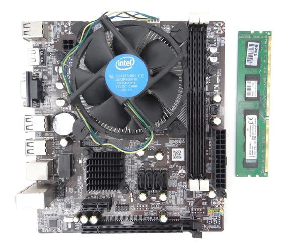 Kit Upgrade Cpu I5 4440 + H81m + 4gb Ddr3 Testado Nfe