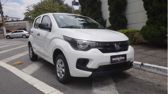 Fiat Mobi 1.0 Easy 2018 Flex 5p Branco