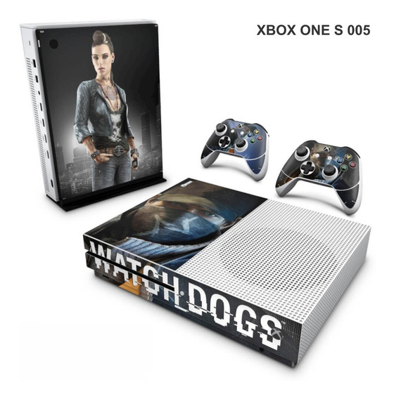Skin Adesiva Para Xbox One S (slim) - Watch Dogs