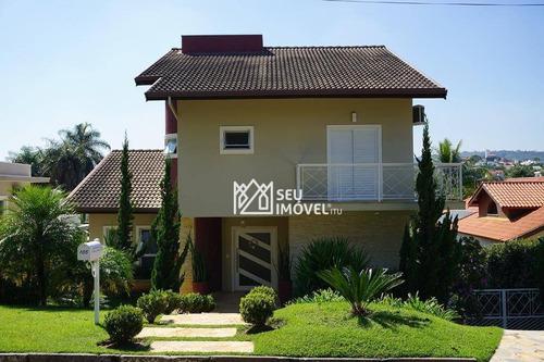 Imagem 1 de 30 de Casa Com 4 Dormitórios À Venda, 386 M² Por R$ 1.530.000,00 - Condomínio Campos De Santo Antônio - Itu/sp - Ca1487