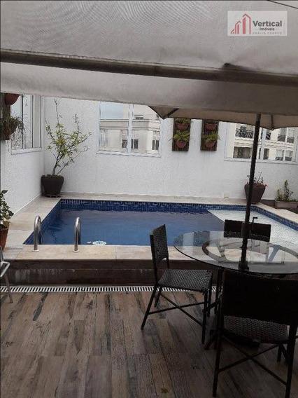 Cobertura Com 4 Dormitórios À Venda, 609 M² Por R$ 6.500.000,00 - Tatuapé - São Paulo/sp - Co0368