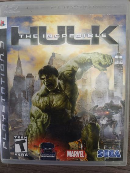 The Incredible Hulk Ps3