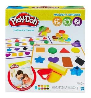 Play Doh Colores Y Formas Masas Didácticas Hasbro B3404