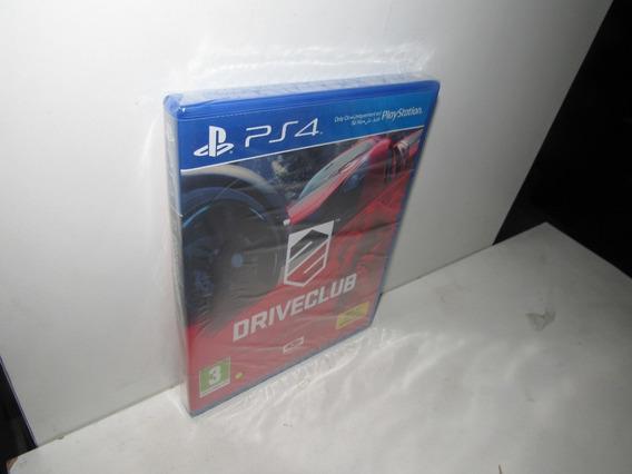 Driveclub Ps4 Mídia Física Novo Lacrado