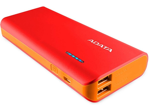 Power Bank 10000mah Adata Cargador Bateria Portatil Celular Led