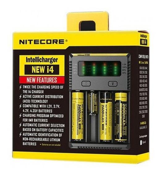 Carregador De Bateria 18650 Nitecore I4 New