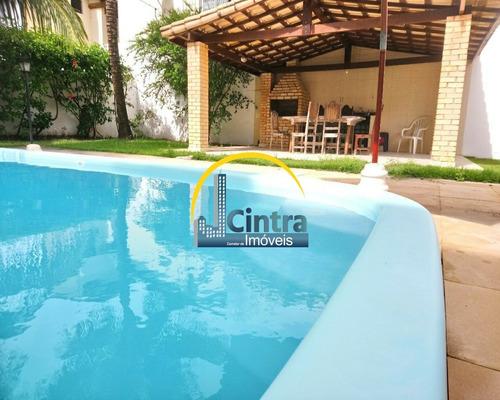 Vendo Casa Condomínio Fechado Em Itapuã, 5/4, Sendo 3 Suítes, 500m², R$1.600.000,00, Financia!!! - J1174 - 69382500