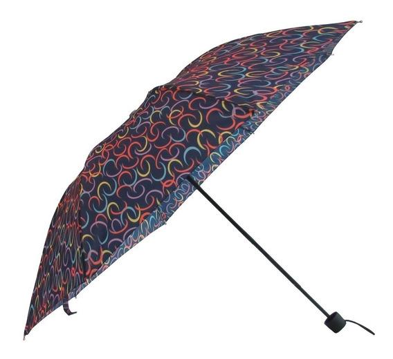 Paraguas Mediano Mujer Estampado Flores Brandy Top3