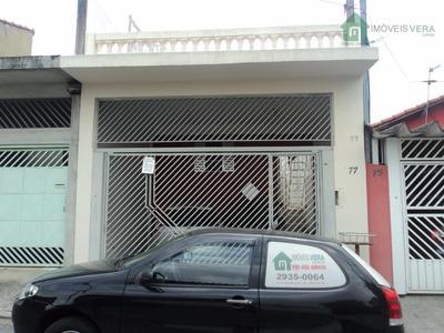 Casa Residencial À Venda, Jardim Catanduva, São Paulo - Ca0101. - Ca0101