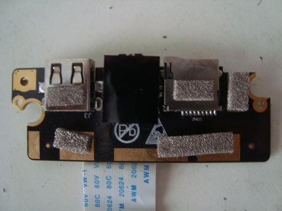 Placa Usb Audio Card Notebook Multilaser Legacy - Envio Já