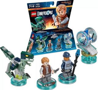 Lego Dimensions Jurassic World Team Pack Usado