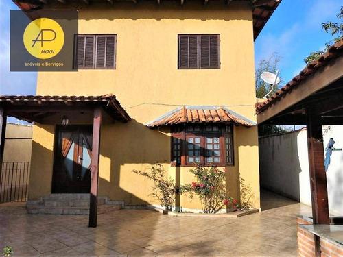 Sobrado Com 4 Dormitórios À Venda, 300 M² - Vila Nova Cintra - Mogi Das Cruzes/sp - So0113