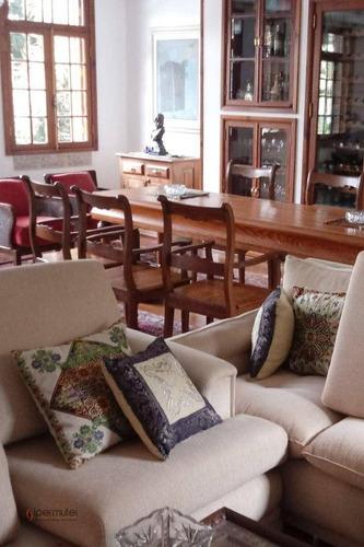 Imagem 1 de 28 de Magnifica Casa Com 4 Dormitórios À Venda, 500 M² - Morumbi - São Paulo/sp - Ca0244