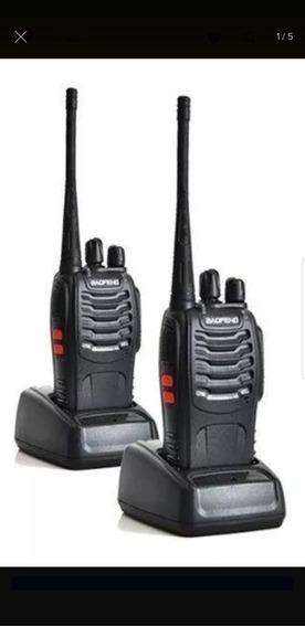 2 Rádios Comunicador Professional Walkie Baofeng 888s
