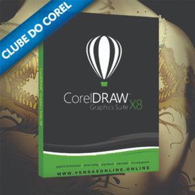 Corel Draw X8- 32bits Ou 64bits (chave Permanente)
