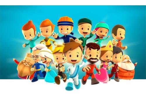 Decorativos Para Niños De Pequeños Heroes  G12