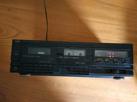 Tape Deck Cce- Dx18 Duplo