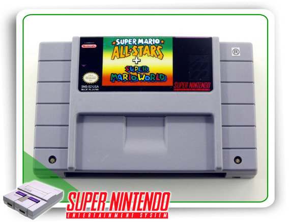 Super Mario All-stars - Super Mario World Original Snes