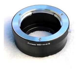 Montaje De La Lente Fotasy Ammd Minolta Md Mc Para Micro 4/3