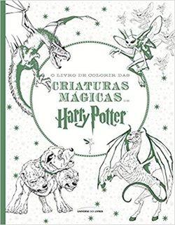 O Livro De Colorir Das Criaturas Mágicas De Harry Potter/pé