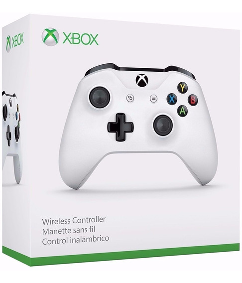 Controle Xbox One S Original Microsoft Bluetooth - Branco