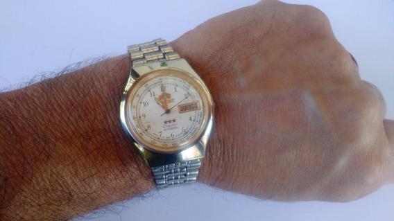 Relógio Orient Automático Masculino Antigo Estado De Novo