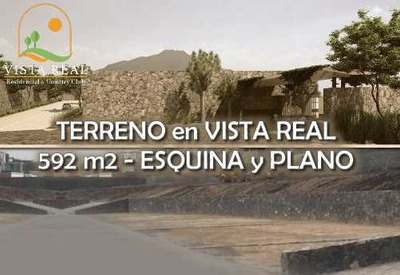 Oportunidad! Terreno De 592 M2 En Vista Real Country Club, Ganelo!