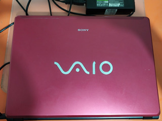 Laptop Sony Vaio Pcg-7q1p Vgn-fj330f 2gb Ram Win 7 Wifi