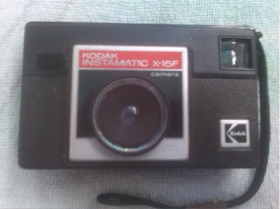 Camara Fotográfica De Colección Kodak Instamatic X-15f