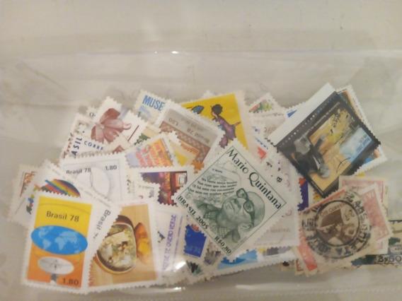Estampillas De Brasil Usadas Y Mint 300 Dif. Varias Épocas