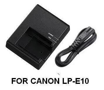 Carregador Bateria Canon Lp E10 Eos T6, T3, T4, T5,lc-e10
