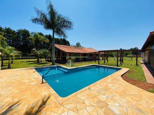 Imagem 1 de 22 de Chácara Com 5 Dormitórios À Venda, 5000 M² Por R$ 1.200.000,00 - Centro - Ibiúna/sp - Ch0066