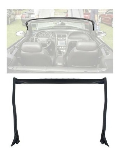 2001-2004 Mustang & Cobra Convertible Oem Header Pillar Pos