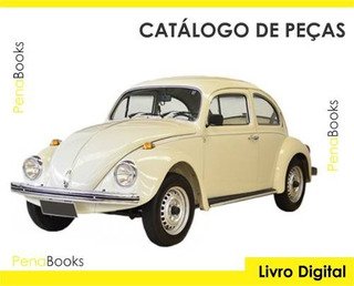 Catálogo Peças Volkswagen Fusca 1300 1600 1978 - 1983