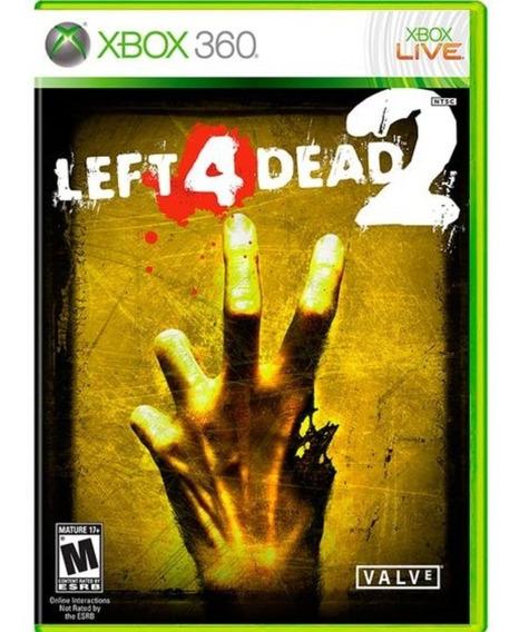 Left 4 Dead 2 Xbox 360 / One Original Midia Fisica + Brinde
