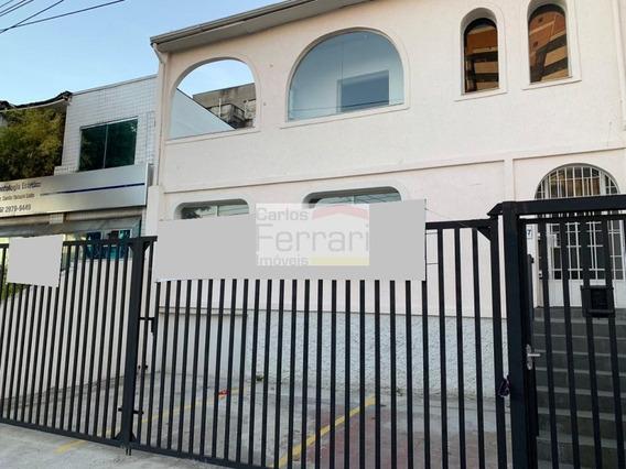 Sobrado Com 8 Salas Para Alugar, 180 M² Por R$ 4.000/mês - Cf23188