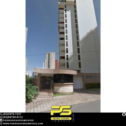 Apartamento Com 4 Dormitórios À Venda, 345 M² Por R$ 730.000 - Miramar - João Pessoa/pb - Ap4908